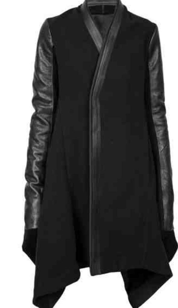 Rick Owens Oblique Coat